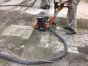 üzempadló betonmarás